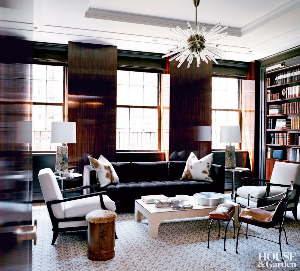 Interiors new york duplex by haynes roberts sukio for New york interiors