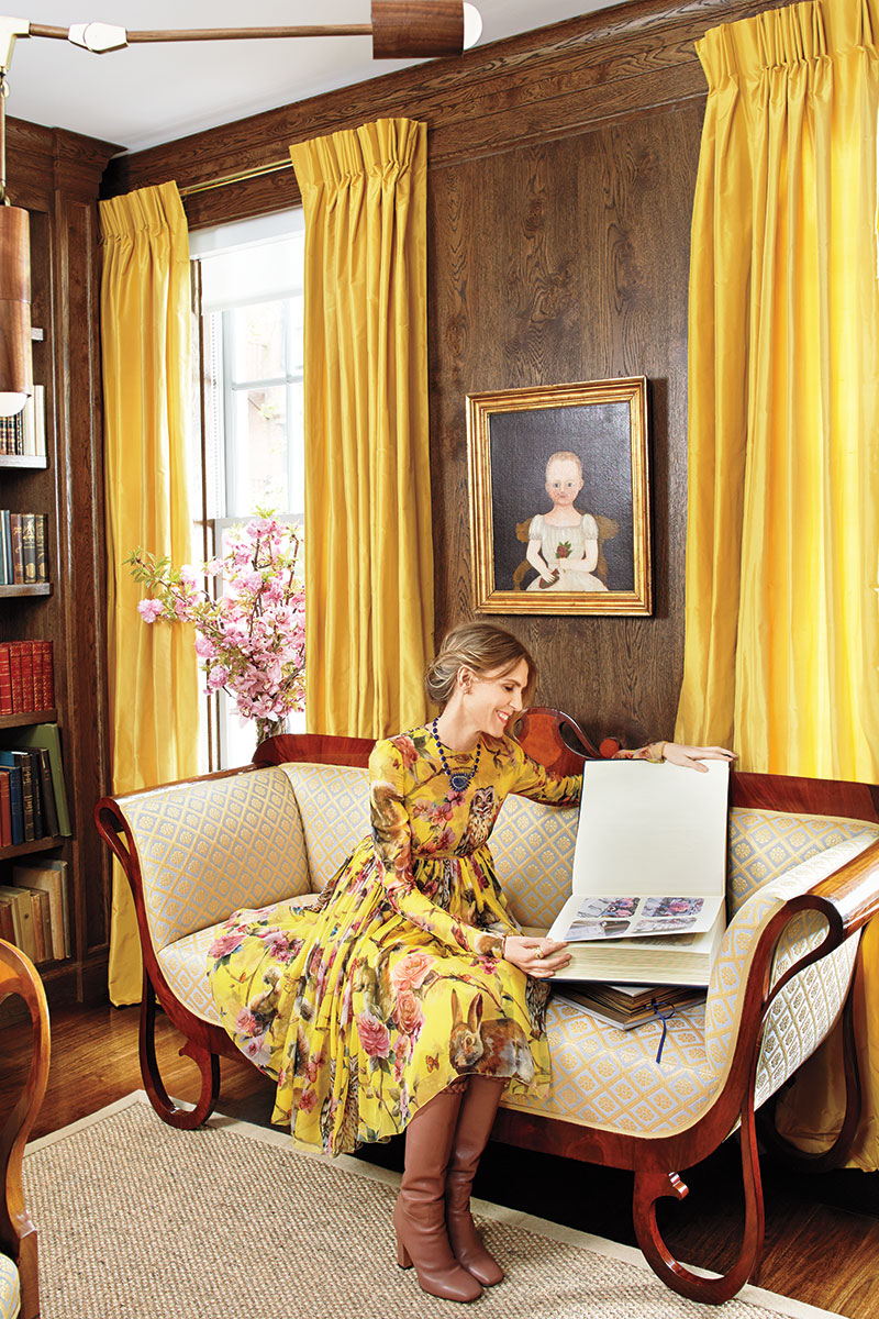 Manhattan home of Gabriela Perezutti Hearst, Design by Daniel Romualdez