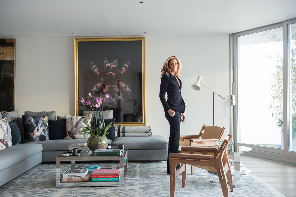 Interiors at home with designer tara bernerd sukio for London house interior design