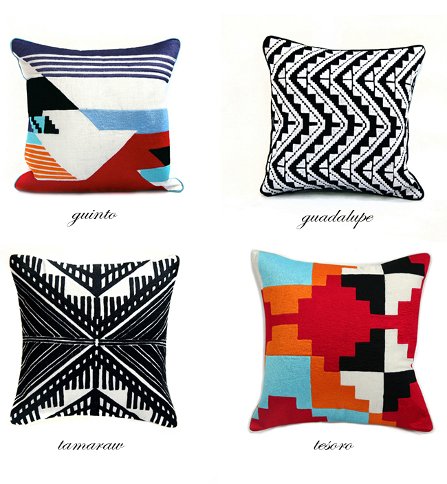 Pillows by Inigo Elizalde