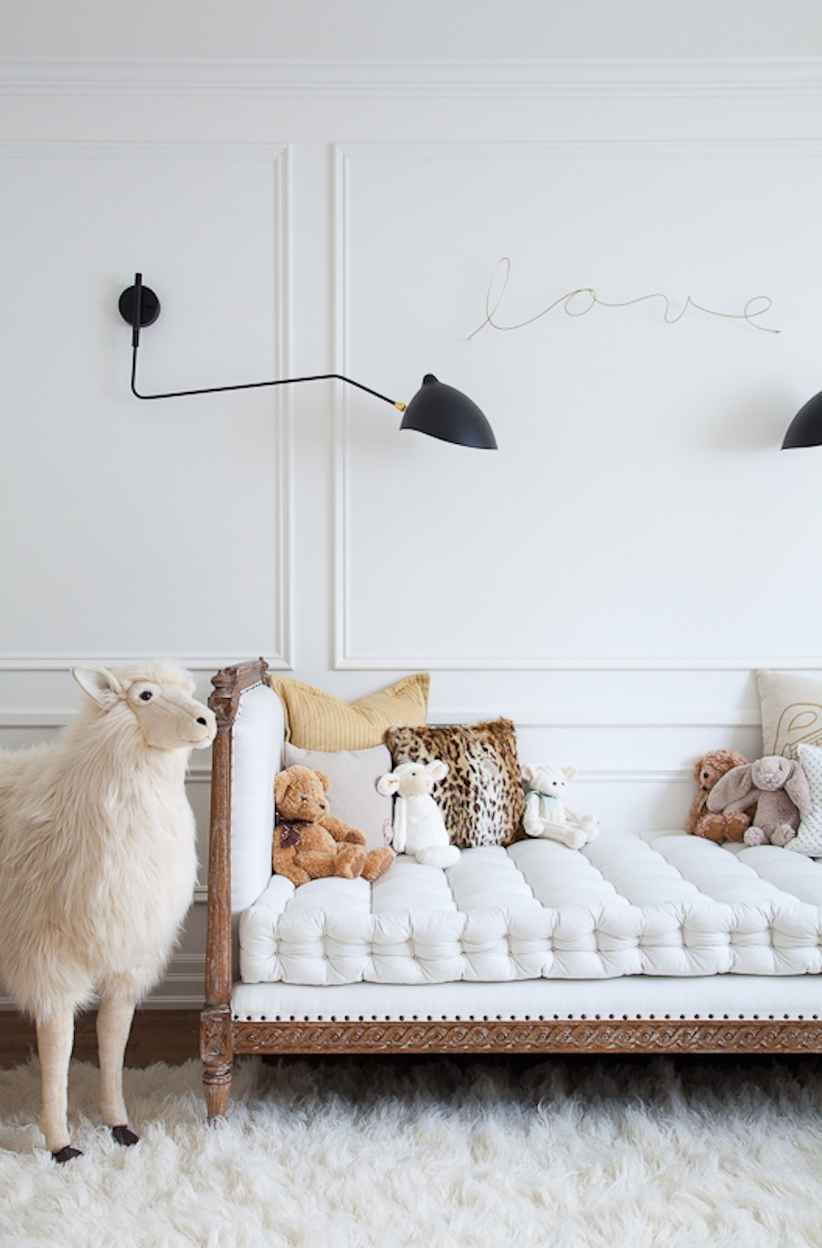 At home with Christine Dovey via Style Me Pretty Living