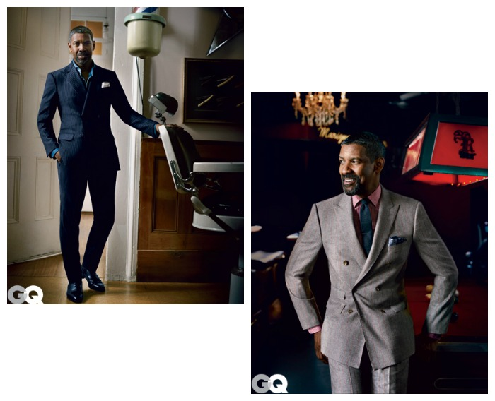 Denzel Washington GQ October 2012