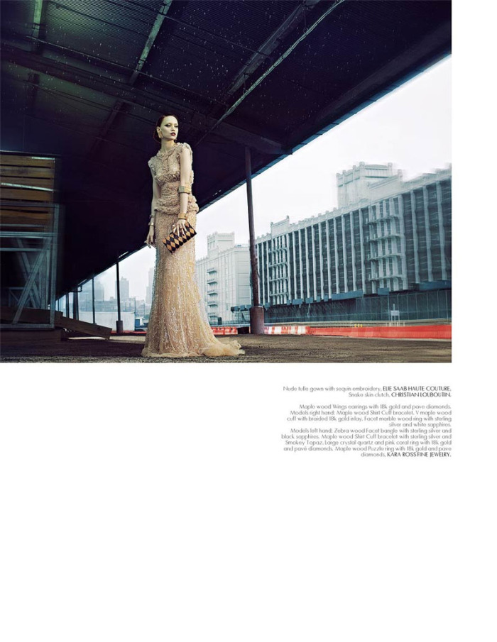 New York Minute Mojeh Magazine Elie Saab Couture