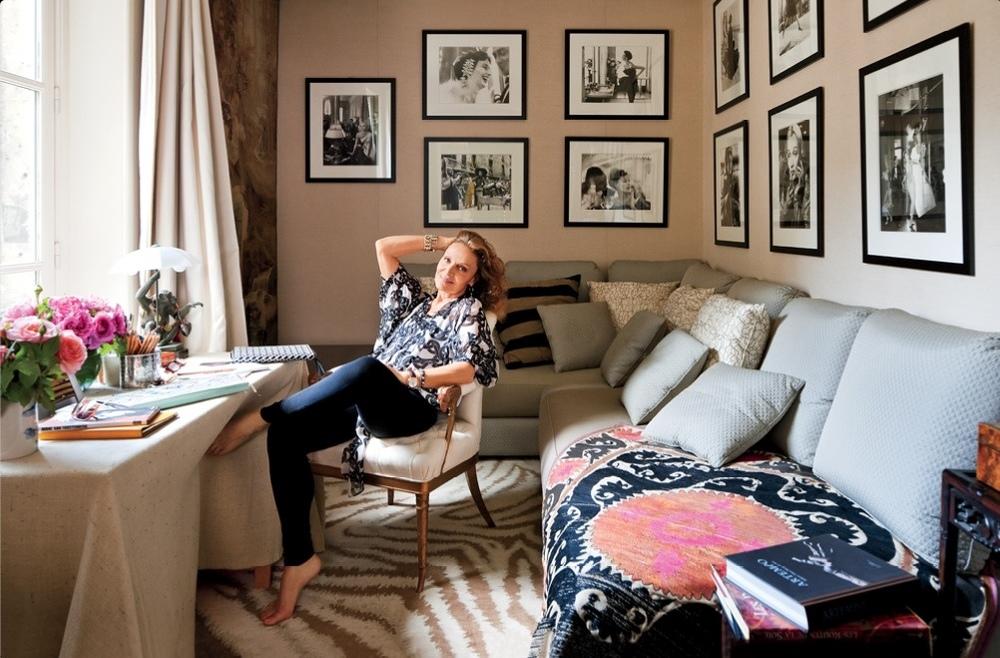 Interiors: Diane von Furstenberg\'s Pied-à-terre — Sukio Design Co.