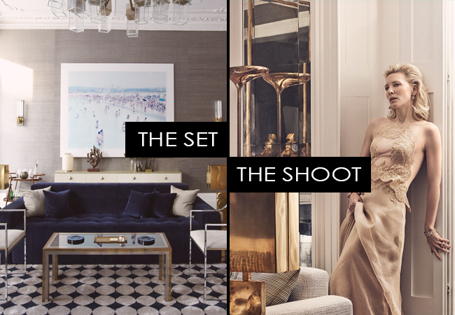The Set, The Shoot: Cate Blanchett for Vogue