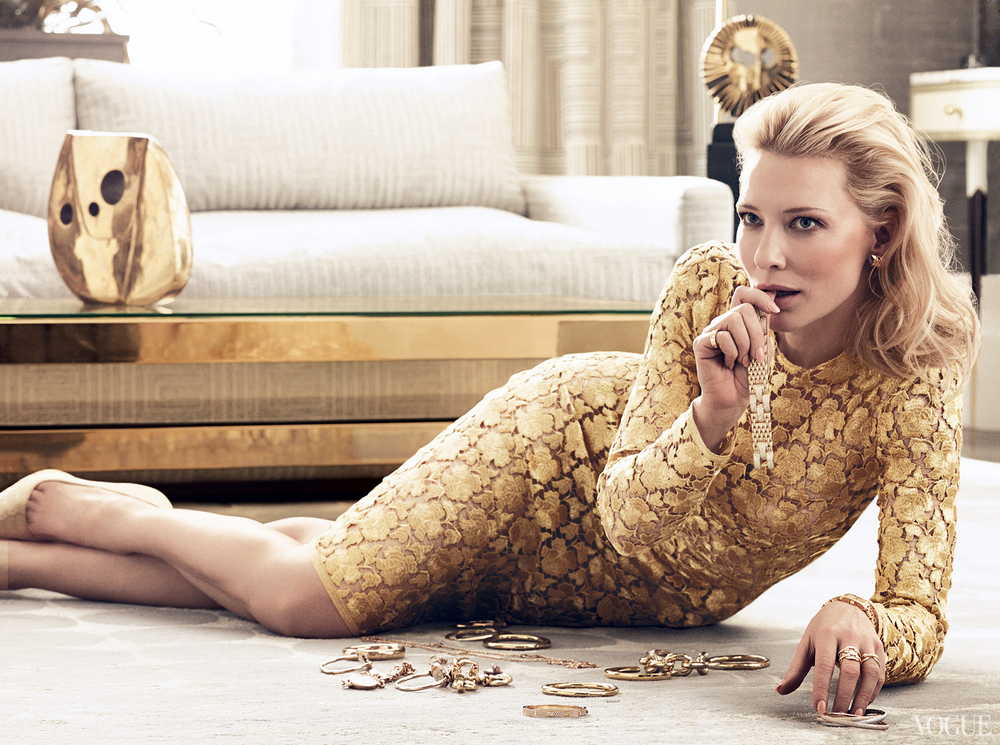 Cate Blanchett, Vogue US January 2014