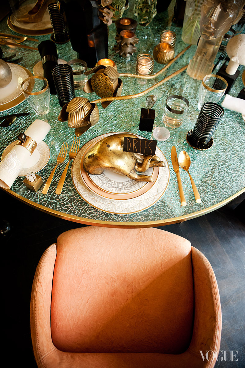 Kelly Wearstler's Fantasy Dinner Party