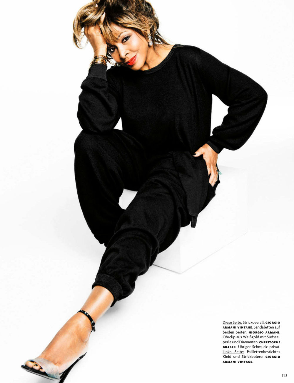 Tina Turner for Vogue Germany