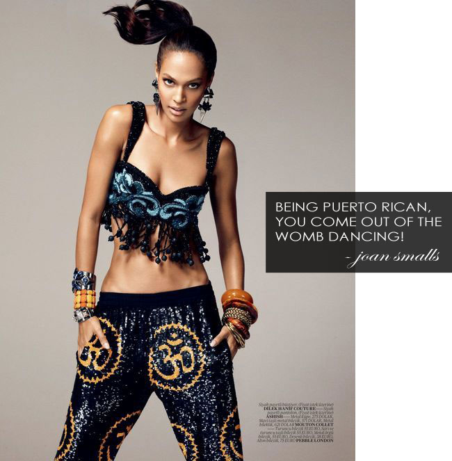 Joan Smalls Vogue Turkey December 2012