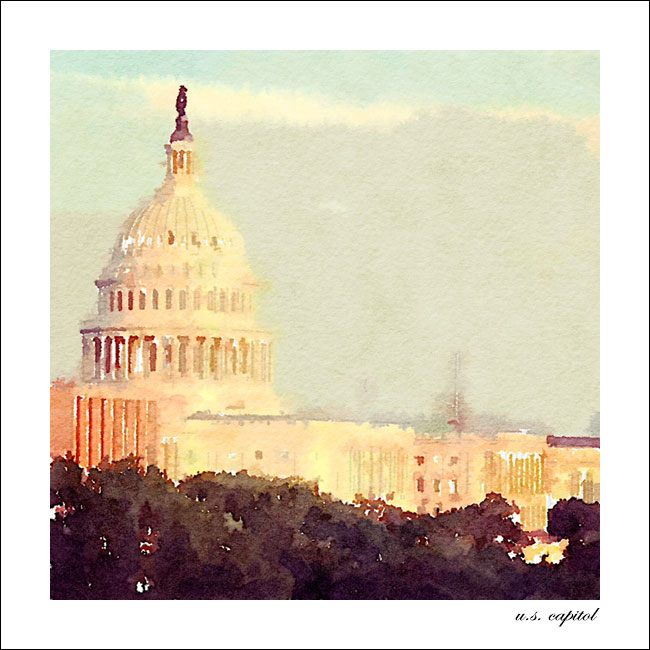 DC in Waterlogue