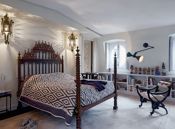 Christian Louboutin's Paris Retreat