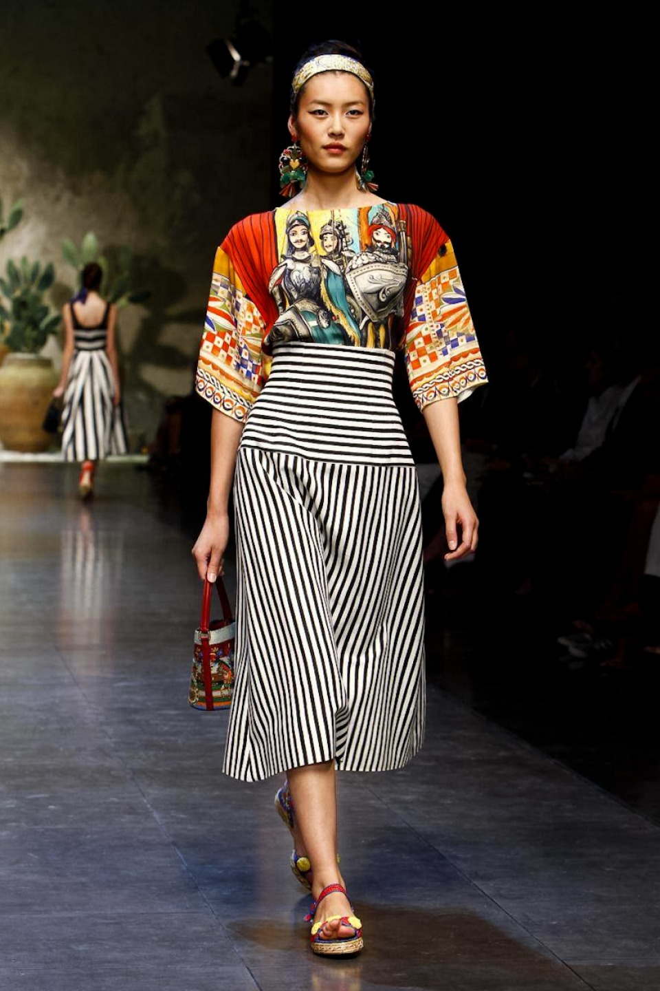 Dolce and Gabbana Spring 2013, Milan Fashion Week