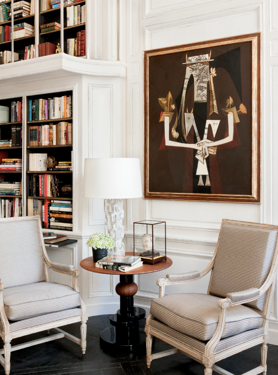 Lauren Santo Domingo's Paris Duplex | Vogue
