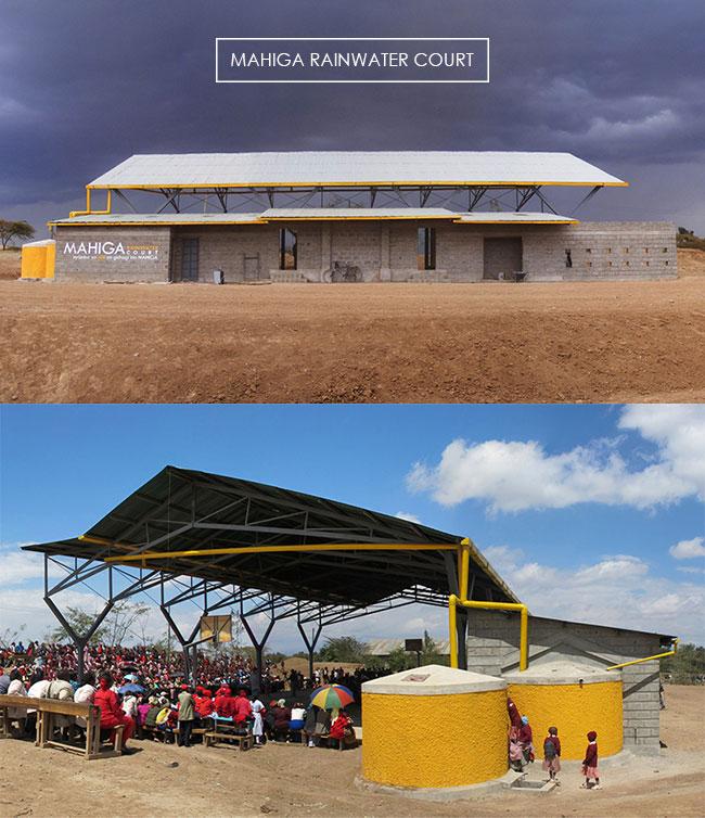 Mahiga Rainwater Court, Nyeri, Kenya