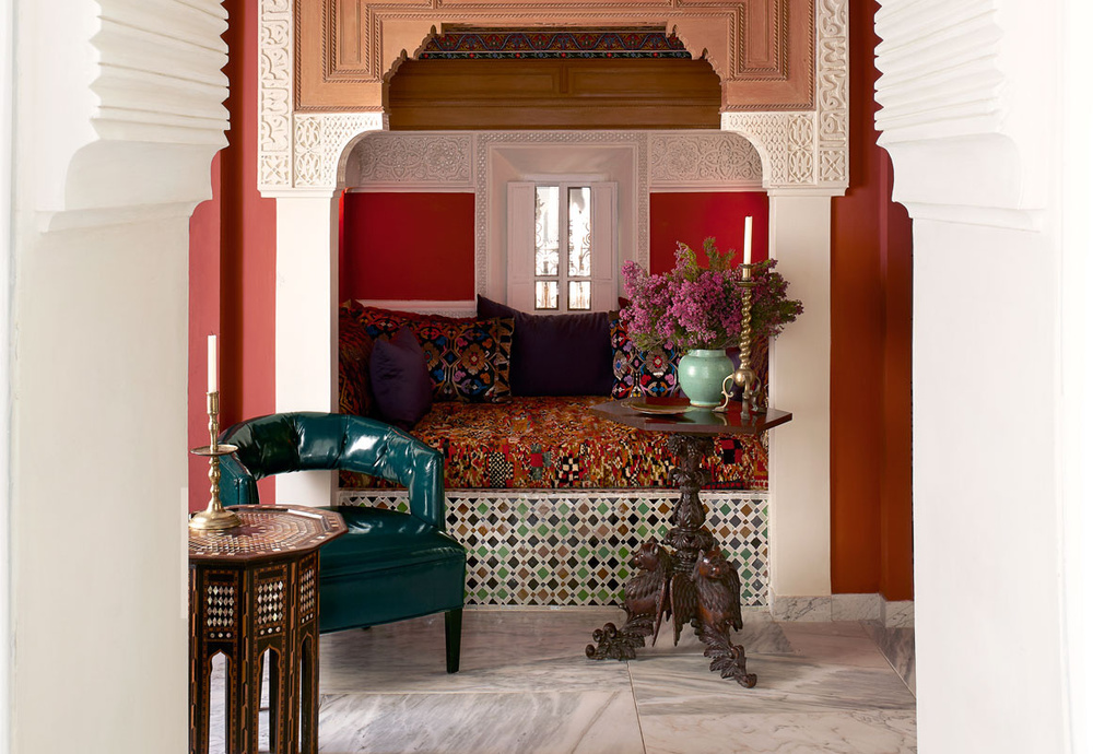 Moroccan Home of Bruno Frisoni and Hervé Van der Straeten