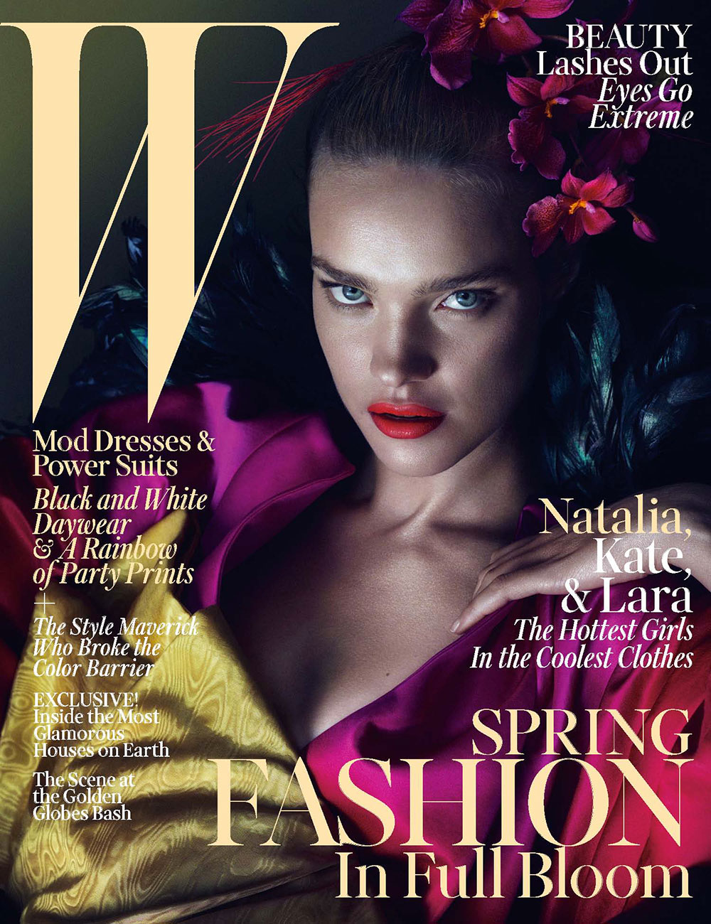 Natalia Vodianova for W Magazine, March 2013