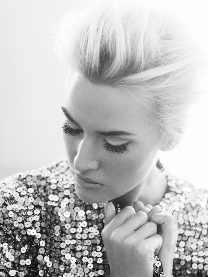 Kate Winslet for Harper's Bazaar UK