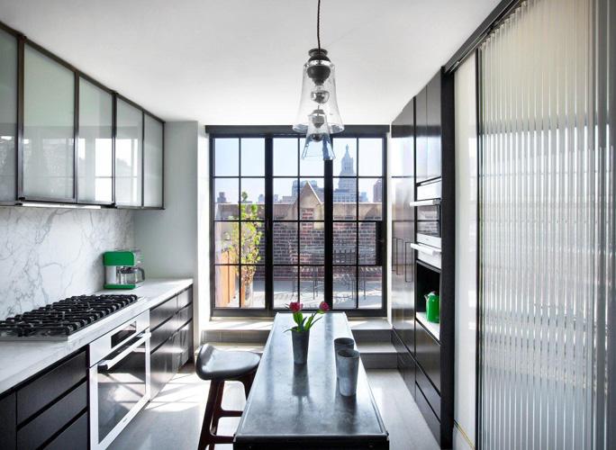 Interiors manhattan triplex by sara story sukio design co for Manhattan interior decorators