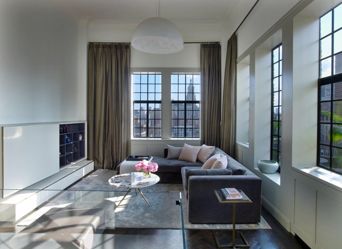 Manhattan Triplex by Sara Story #interiors
