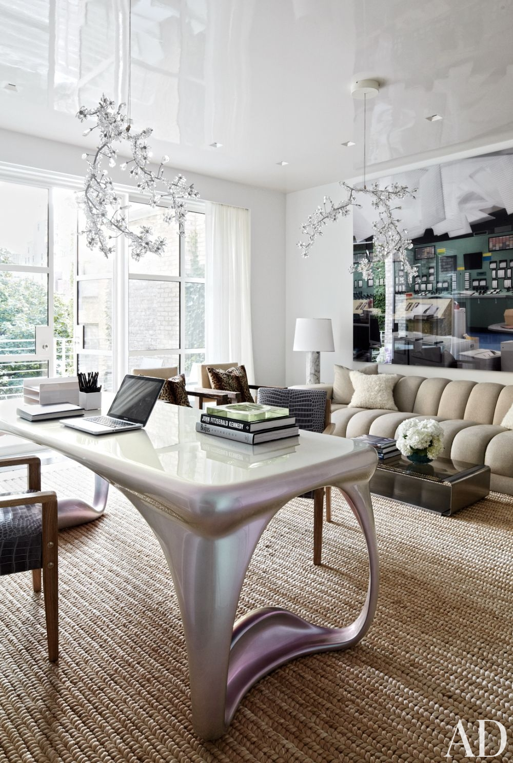 Manhattan Townhouse by Delphine Krakoff