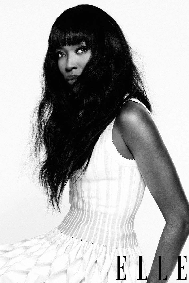 Naomi Campbell Elle US February 2013