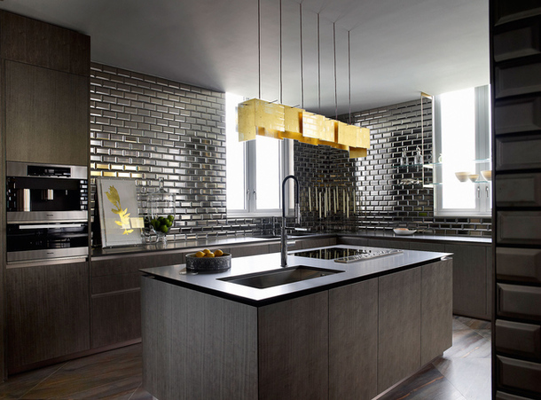 Interiors the opus hong kong show apartment sukio design co Kitchen design companies hong kong