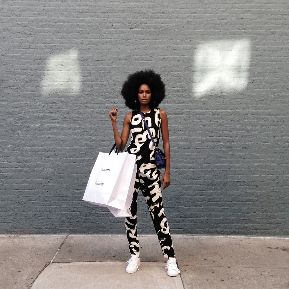 Arlenis Sosa in #OneStopShopNYC for Vogue