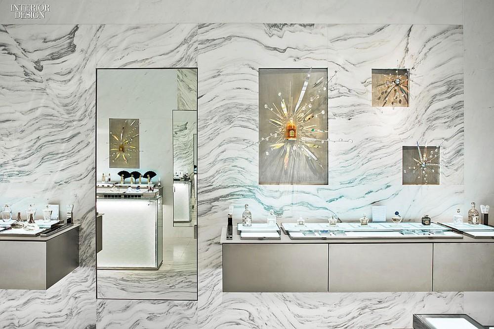Interiors a high glam parisian perfumery sukio design co - Blog di interior design ...