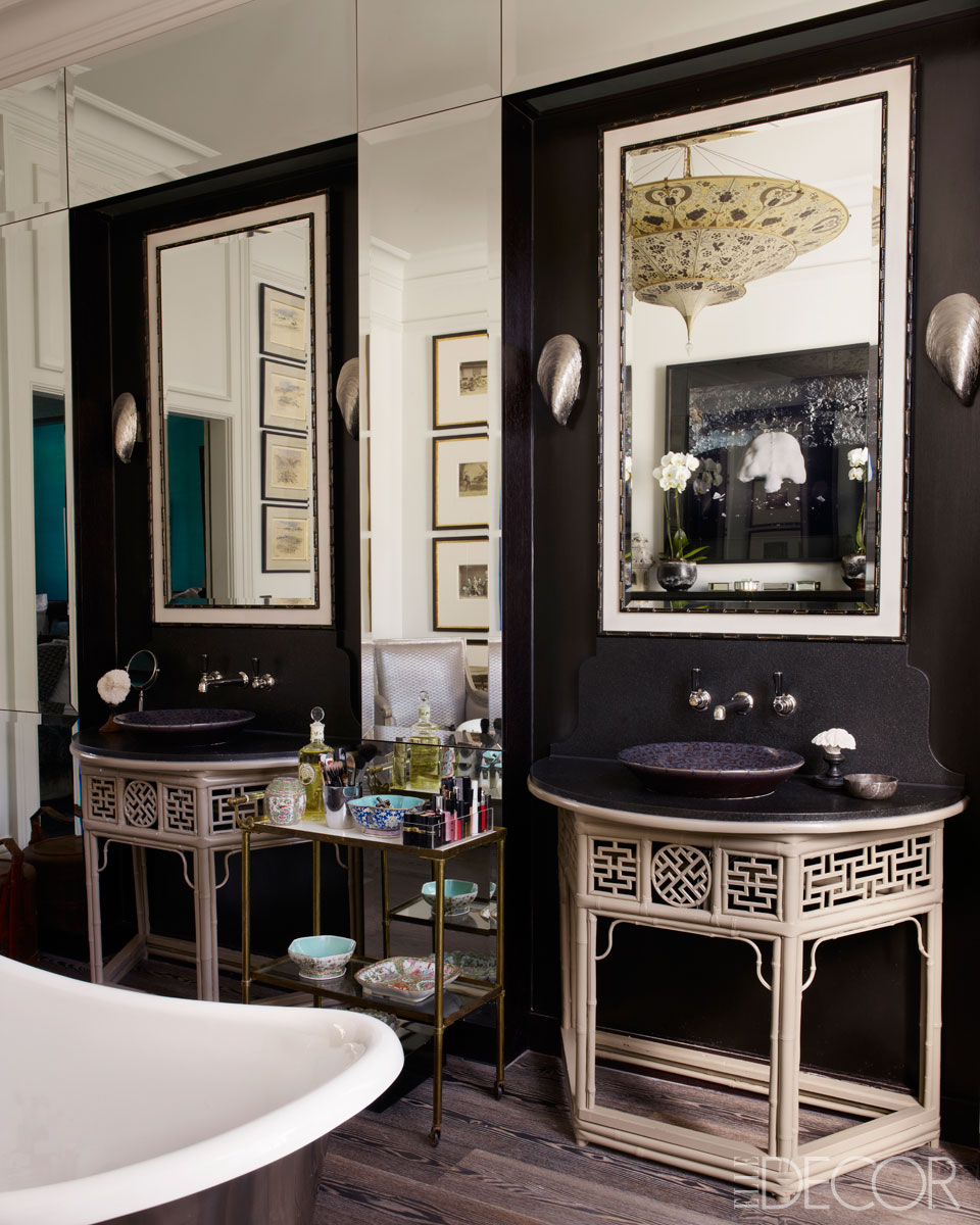 Interiors a global london townhouse sukio design co for Townhouse bathroom ideas
