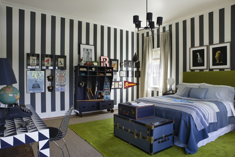 Teenage Boy's Room by Regan Billingsley, DC Design House