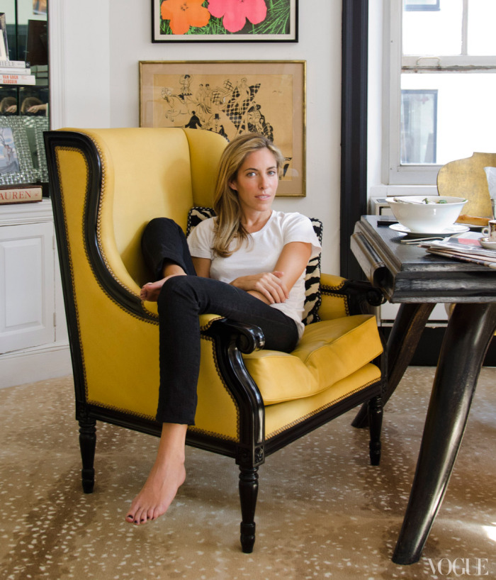 Nicole Henley Mellon Apartment on Vogue.com