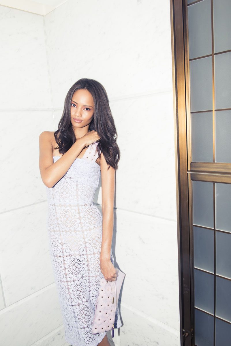 Malaika Firth in Burberry Prorsum S/S 14, The Coveteur