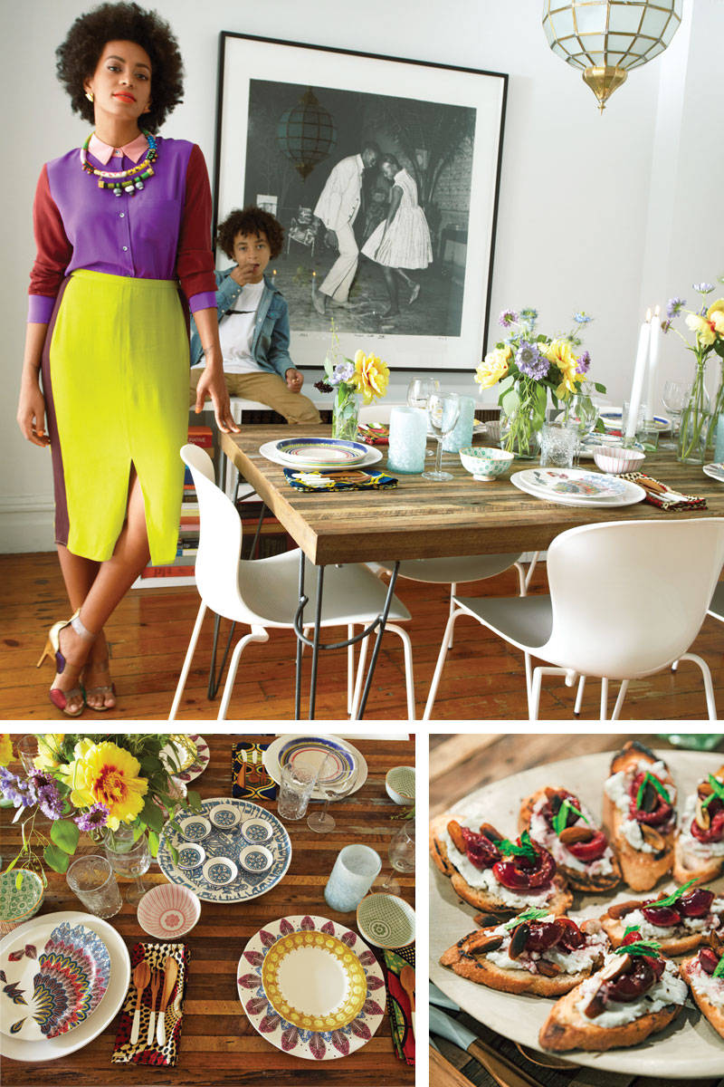 Solange Knowles Brooklyn Home Elle Magazine