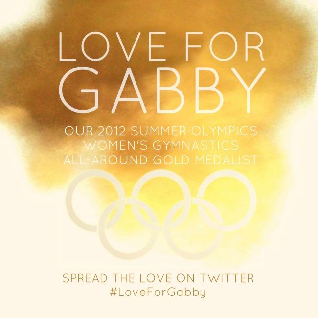 Love for Gabby Douglas