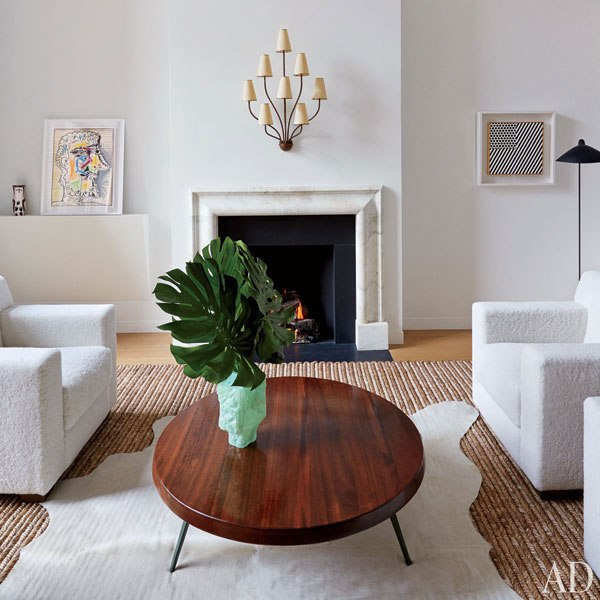 Manhattan Townhouse. Renovations: Annabelle Selldorf. Interior Design: D'Apostrophe