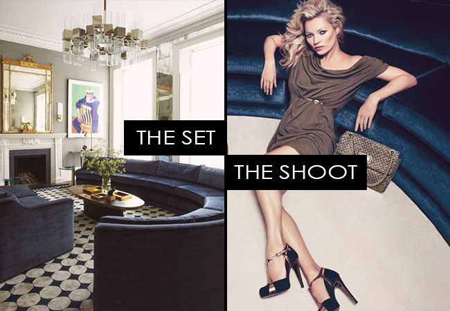 The Set, The Shoot: Kate Moss for Liu Jo
