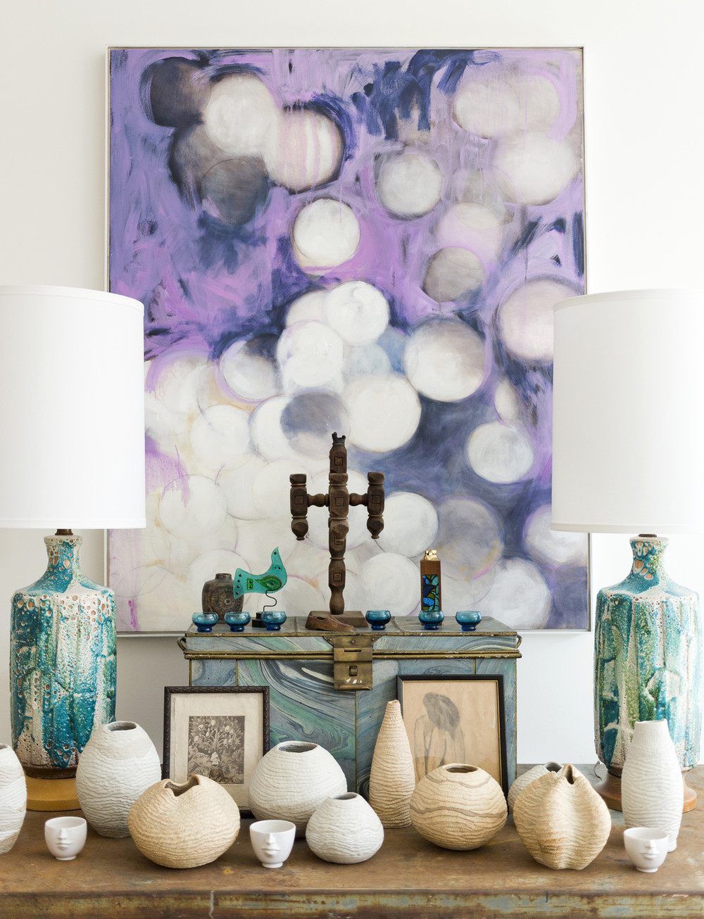 Julia Buckingham's Showroom via Lonny Magazine