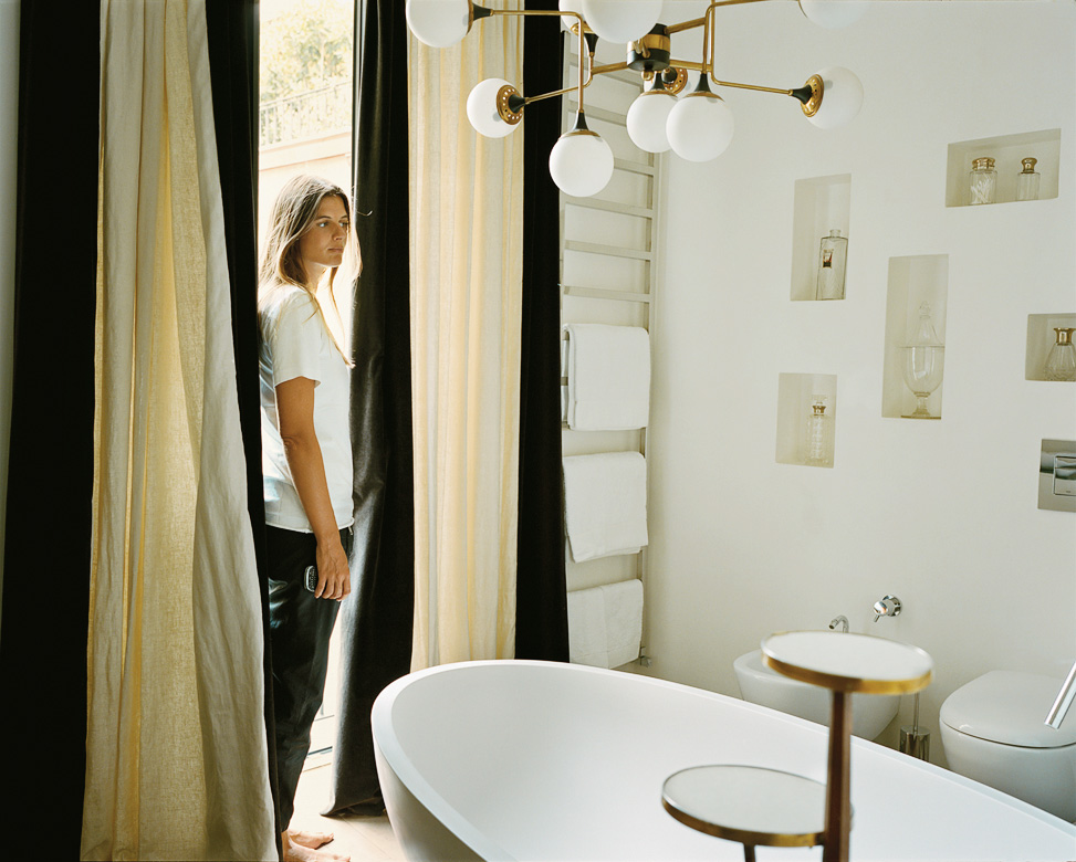 Carolina Castiglioni's Milan Home