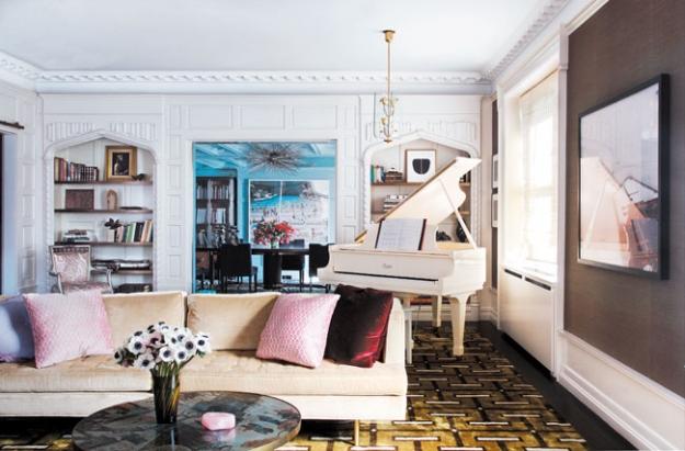 Interiors Darren Brown S Modern Glamour Mix Sukio