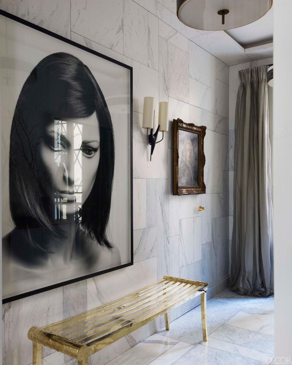 Interiors jean louis deniot 39 s paris retreat sukio for Modern glamour interior design