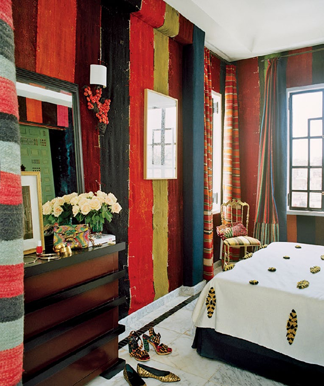 Moroccan Home of Bruno Frisoni and Hervé Van der Straeten, Vogue