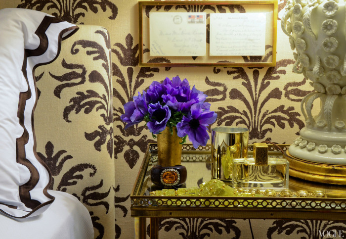 Aerin Lauder Bedroom | Vogue