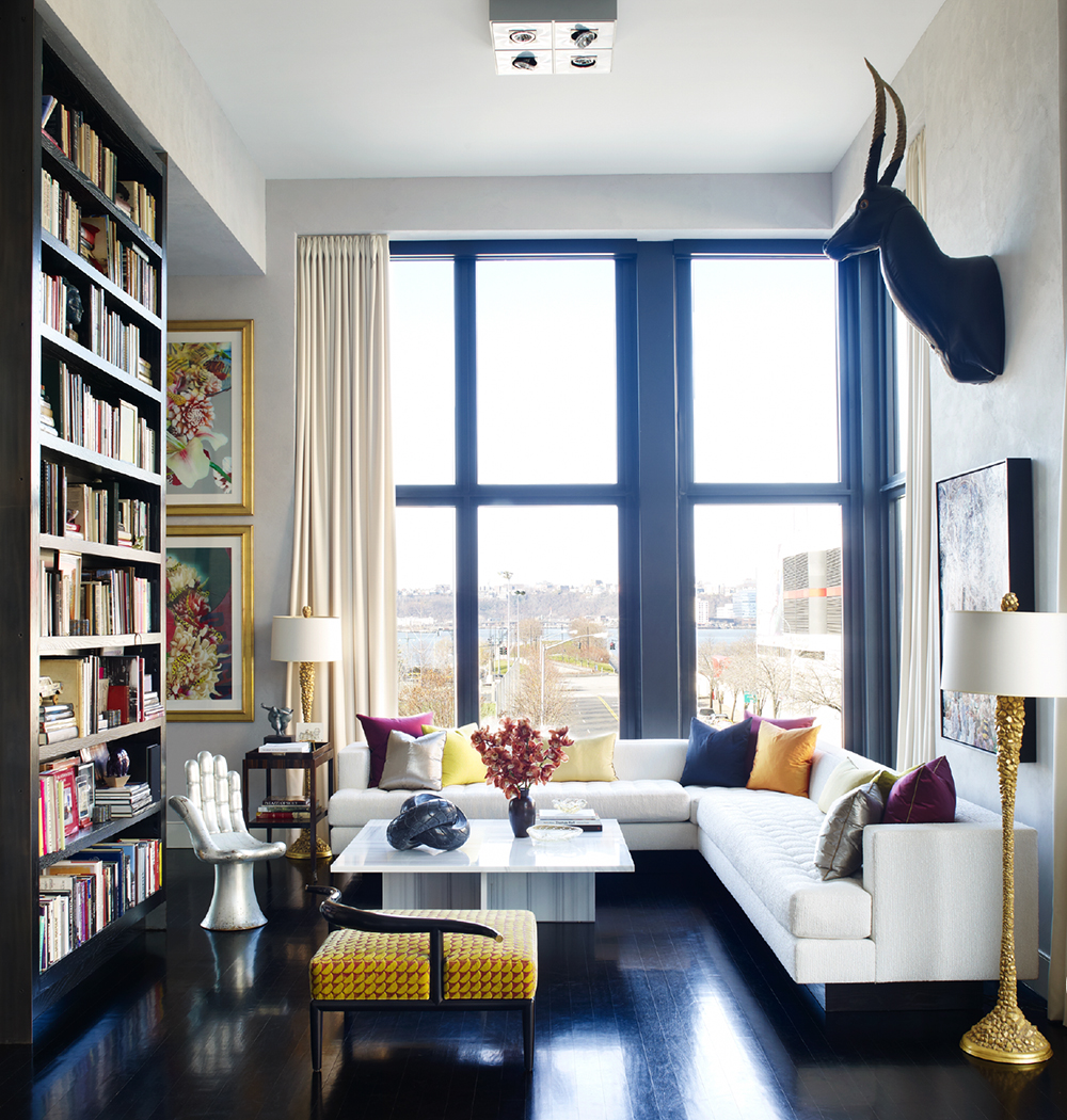 One Room Apartment Nyc: Interiors: Jamie Drake's Swank New Digs