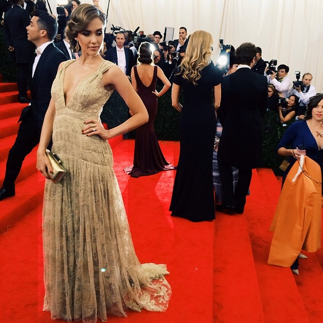 Met Gala Red Carpet via Instagram