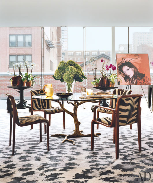 Diane von Furstenburg New York Apartment