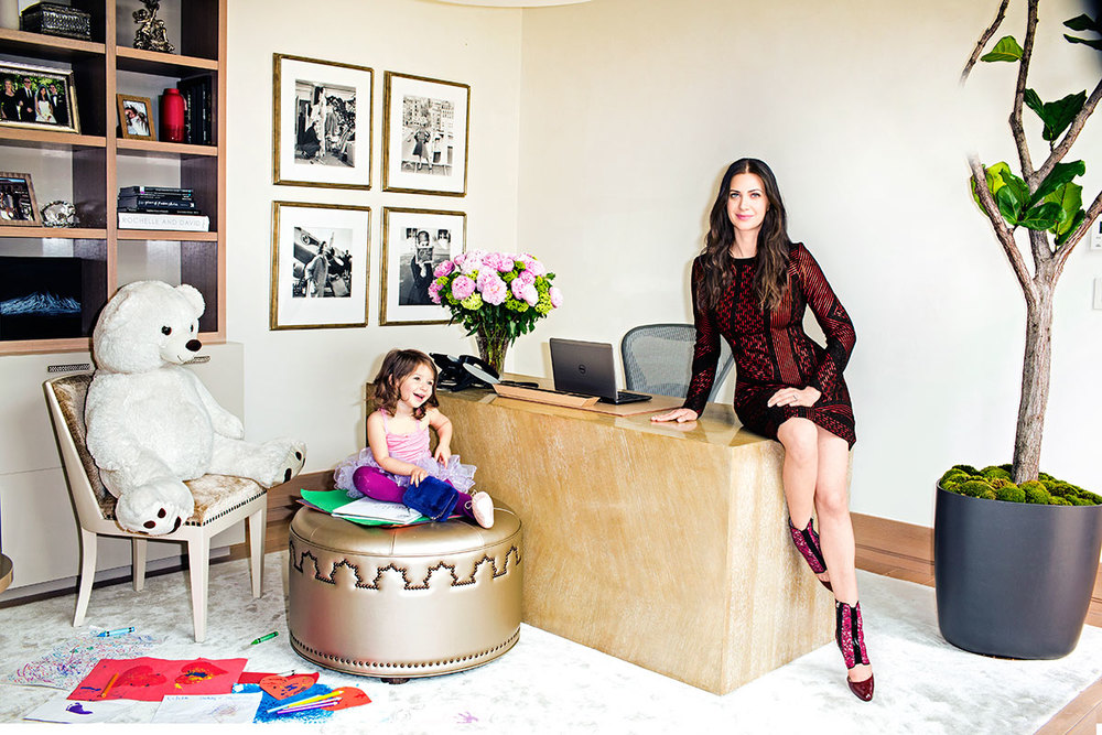 Rochelle Gores Fredston's Beverly Hills Home