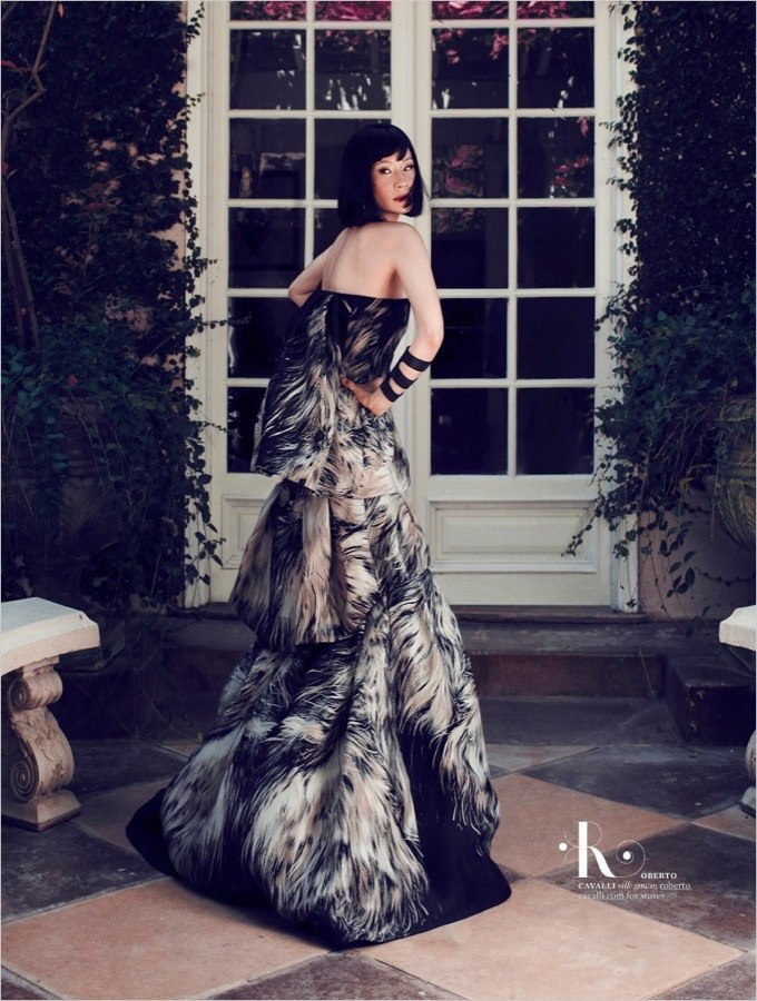 Lucy Liu More Magazine
