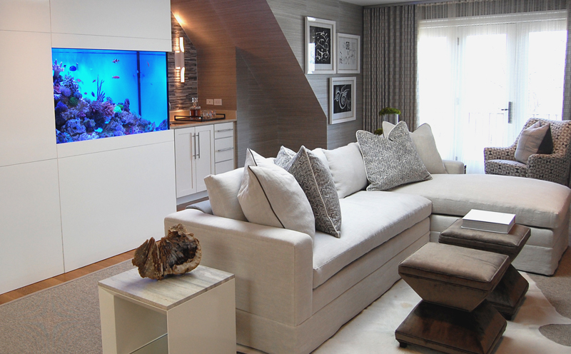 Media Room by Akseizer Design Group, DC Design House