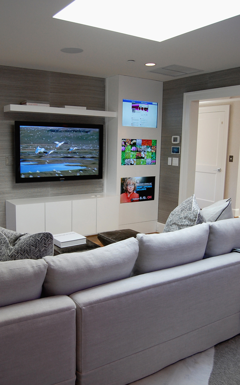 Media Room by Akseizer Design Group, DC Design House