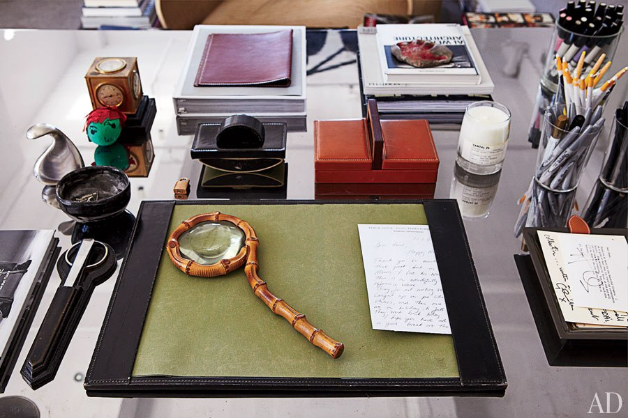Delicieux Reed Krakoff Office 04. Desk Accessories Include Vintage ...